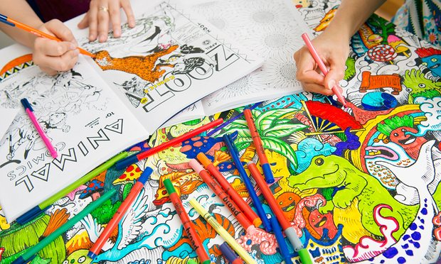 animal coloring books for kids and their parents