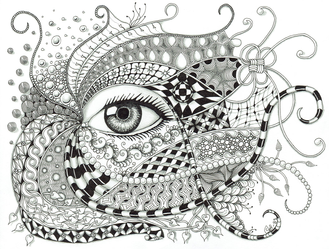 Zentangle Books | AdultcoloringbookZ