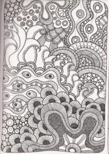 Zentangle Patterns – 4