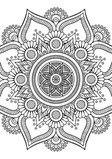 coloring-mandala-big-flower