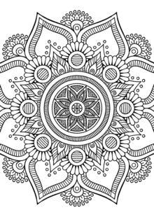 coloring-mandala-big-flower