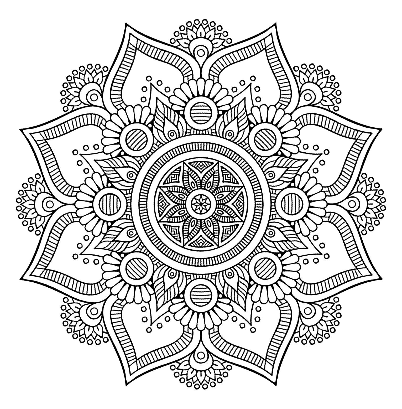 Best Mandala | AdultcoloringbookZ