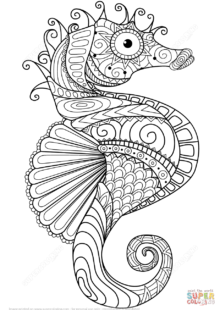 Fish and Sea Creatures Coloring Pages 1