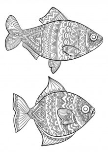 Fish and Sea Creatures Coloring Pages 3
