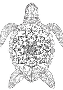 Fish and Sea Creatures Coloring Pages 6