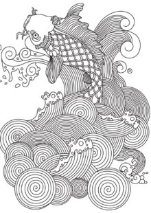 Fish and Sea Creatures Coloring Pages 7