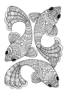 Fish and Sea Creatures Coloring Pages 8