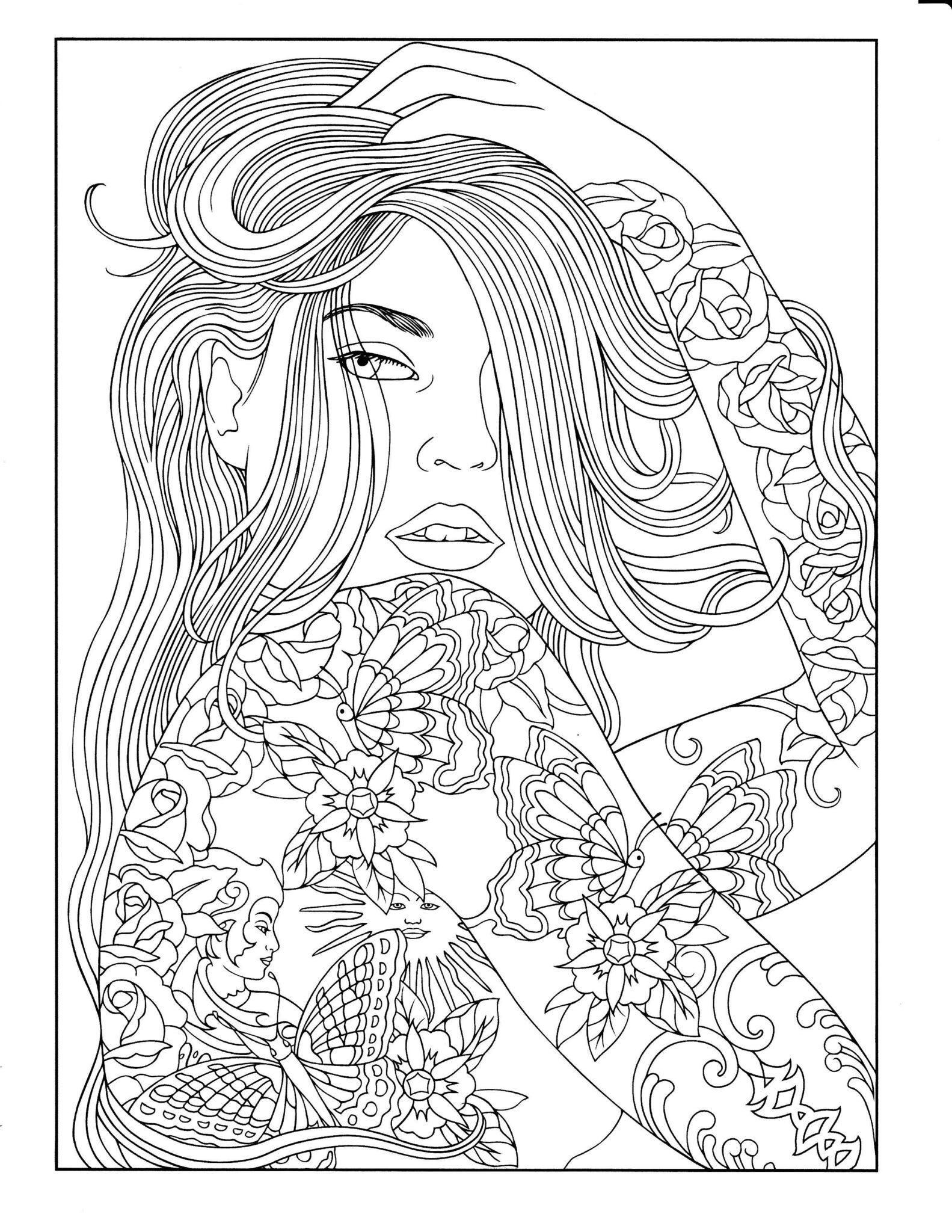 Adult Coloring Pages for Men 1