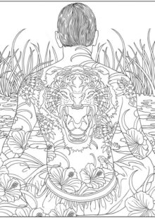 Adult Coloring Pages for Men