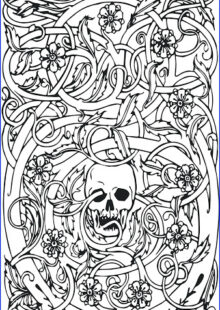 Adult Coloring Pages for Men 3