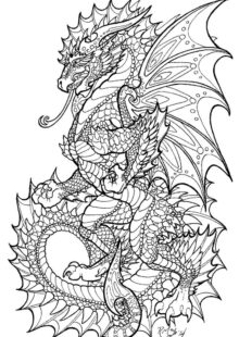 Adult Coloring Pages for Men 4