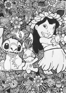 Adult Disney Coloring Pages 6