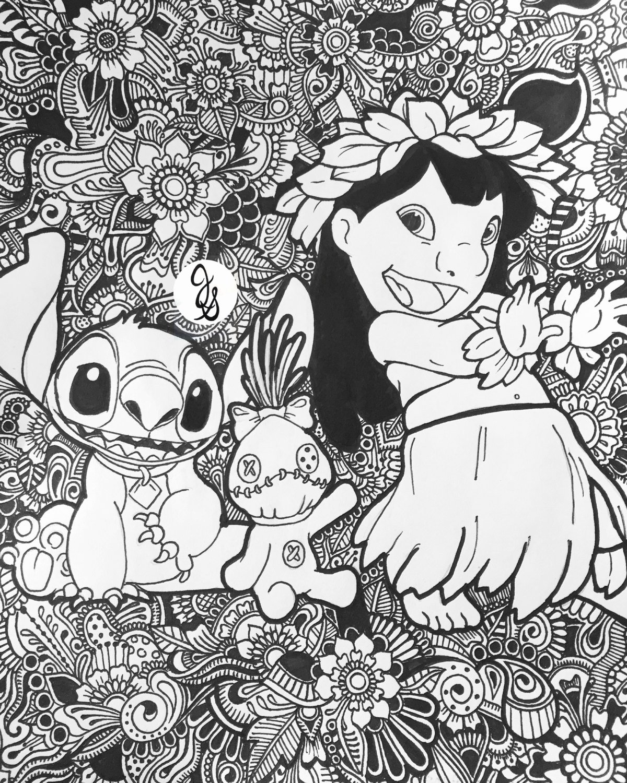 Adult Disney Coloring Books | AdultcoloringbookZ