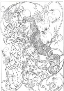 Adult Disney Coloring Pages 7