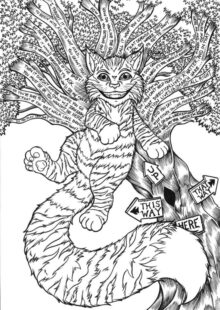 Alice in Wonderland Coloring Pages 4