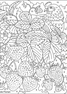 Color by Number Coloring Pages 2