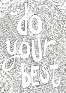 Doodle Art Coloring Pages 7