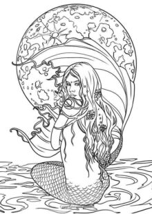 Fairy Tale Coloring Pages 2
