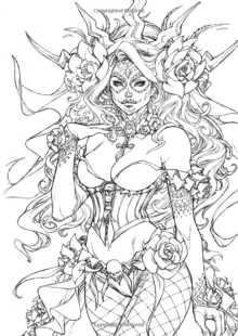 Fairy Tale Coloring Pages 3