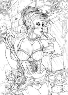 Fairy Tale Coloring Pages 4