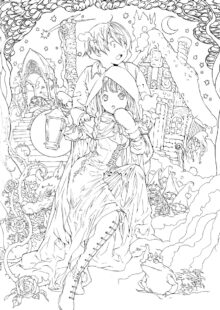 Fairy Tale Coloring Pages 5