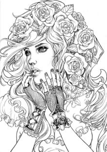 Fairy Tale Coloring Pages 6