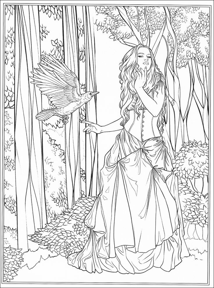Fantasy Coloring Books AdultcoloringbookZ