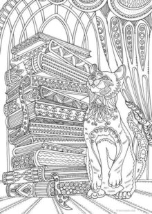 Fantasy Coloring Pages for Adult 5