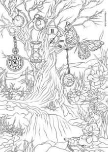 Fantasy Coloring Pages for Adult 6