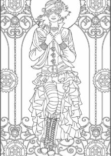 Red Queen: The Official Coloring Book Inspirational Images 34 best images about Adult Coloring Pages STEAMPUNK on