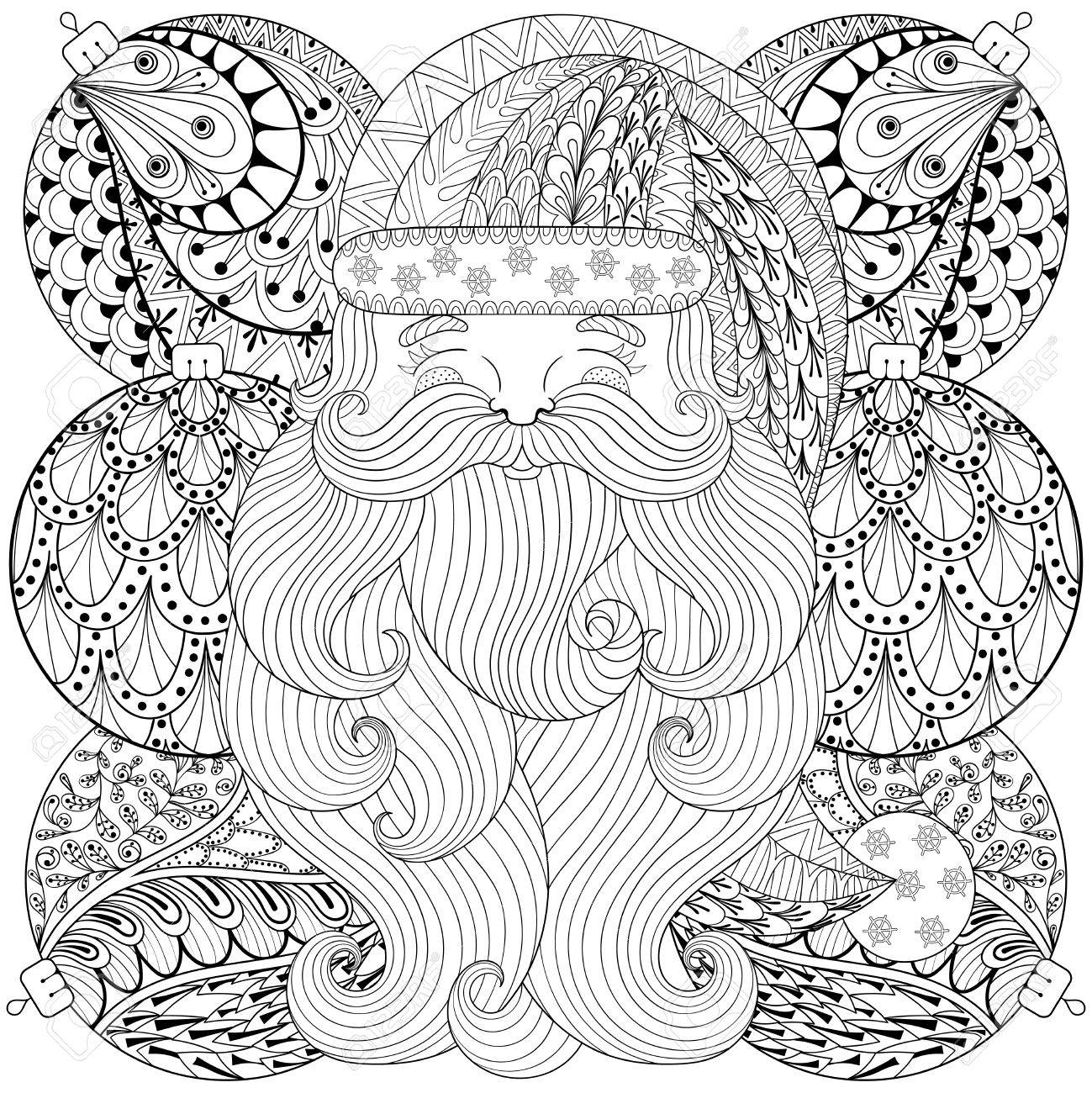 Christmas Coloring Books for Adults | AdultcoloringbookZ