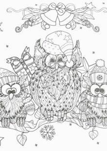 christmas coloring pages 5