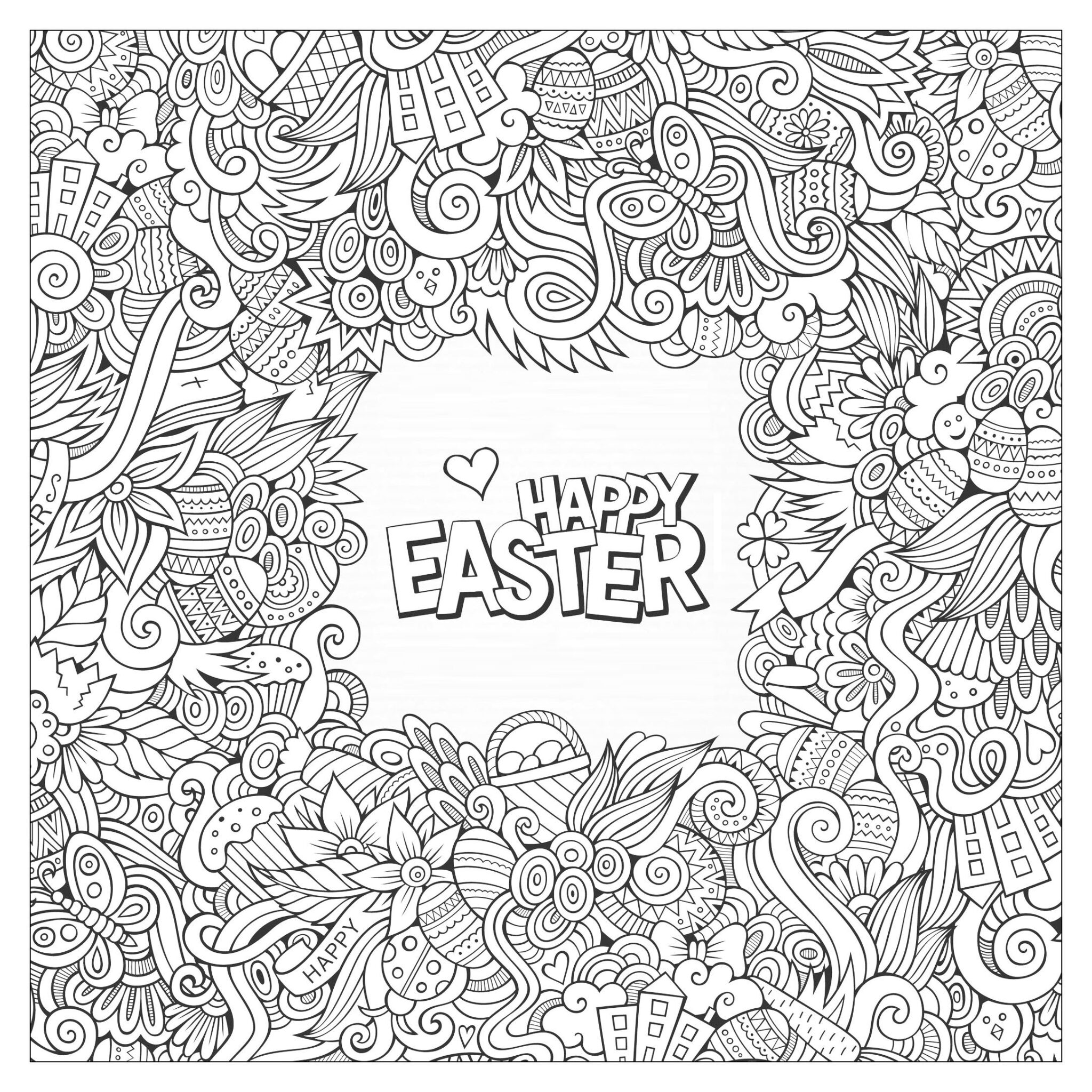 easter coloring pages 7