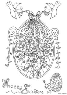 easter coloring pages 9