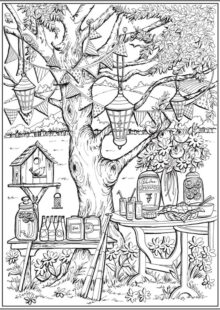 fall coloring pages 5
