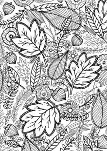 fall coloring pages 8
