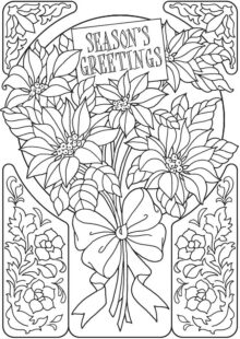 holiday coloring pages 4