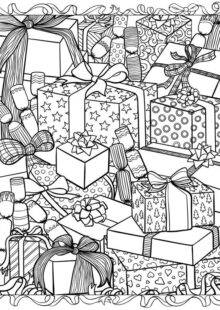 holiday coloring pages 5