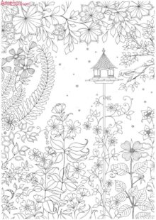 natural coloring pages 2