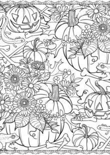 natural coloring pages 4