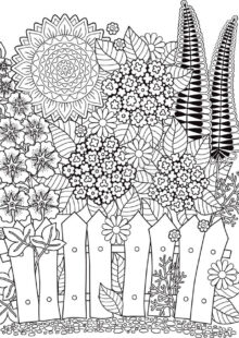 natural coloring pages 6