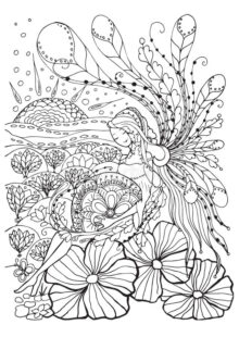 natural coloring pages 7