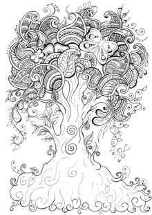 natural coloring pages 8