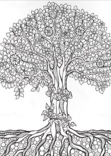 natural coloring pages9