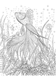 ocean coloring pages 2
