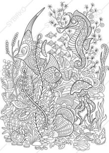 ocean coloring pages 3