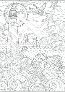 ocean coloring pages 5