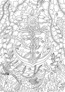 ocean coloring pages 9