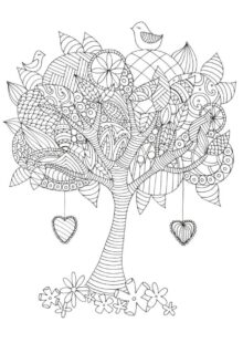 trees coloring pages 5