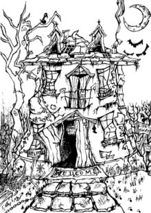 halloween coloring pages – 6